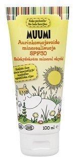 Muumi Aurinkovoide Mineraalisuoja 30 SPF 100 ml