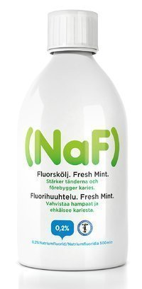 NaF Fluorihuuhde 500 ml