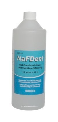 NaFDent natriumfluoridiliuos 500 ml