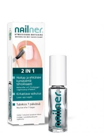 Nailner Kynsisienen hoitoaine 2-in-1 5 ml
