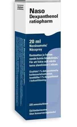 Naso Dexpanthenol ratiopharm 20 ml