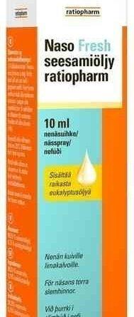 Naso Fresh seesamiöljy ratiopharm 10 ml