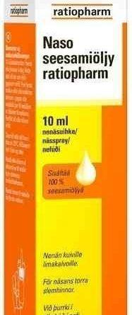Naso seesamiöljy ratiopharm 10 ml