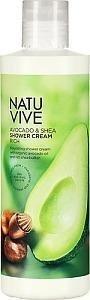Natuvive Avocado & Shea Shower Cream 250 ml