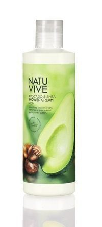 Natuvive Avocado & Shea Shower Cream 250 ml