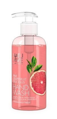 Natuvive Pink Grapefruit Hand Wash 250 ml