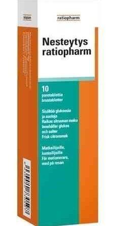 Nesteytys ratiopharm 10 poretablettia