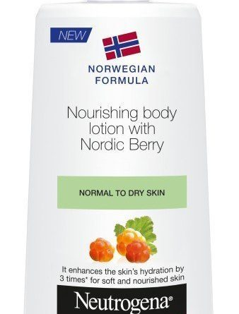 Neutrogena Norwegian Formula Nordic Berry Body Lotion 400ml