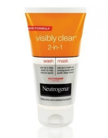 Neutrogena Visibly Clear 2 In 1 Wash Mask