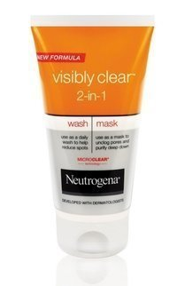 Neutrogena Visibly Clear 2-in-1 Wash Mask 150 ml