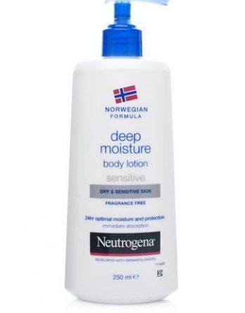 Norwegian Formula Deep Moisture Body Lotion Sensitive & Dry Skin 250ml