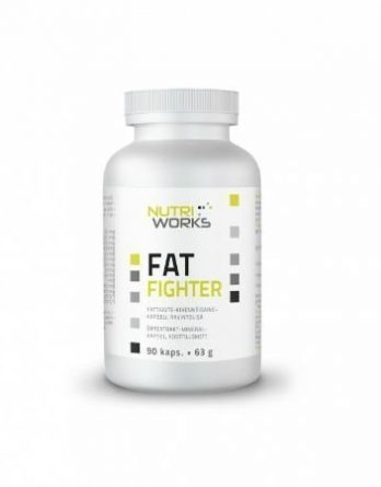 Nutri Works Fat Fighter 90 kaps.