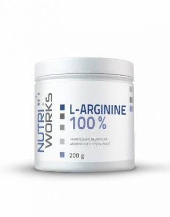 Nutri Works L-Arginine arginiinijauhe 200g