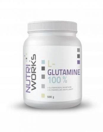 Nutri Works L-Glutamine glutamiinijauhe 500g