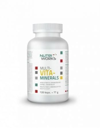 Nutri Works Multavita-Minerals 120 tabl.