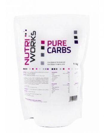 Nutri Works Pure Carbs hiilihydraattilisä 1kg