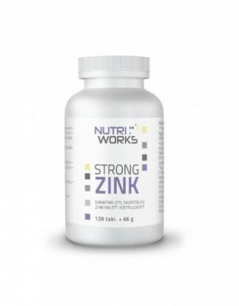 Nutri Works Strong Zink 120 tabl.