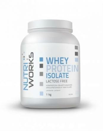 Nutri Works Whey Protein Isolate makeuttamaton 1kg