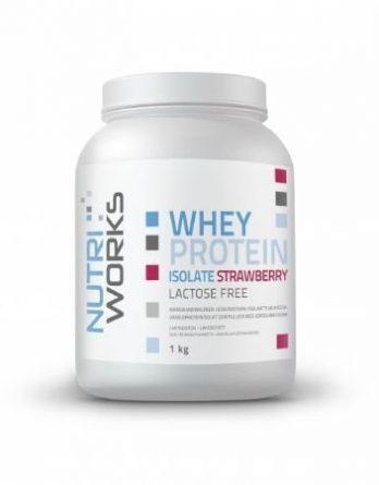 Nutri Works Whey Protein Isolate mansikka 1kg