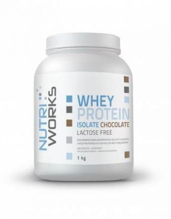 Nutri Works Whey Protein Isolate suklaa 1kg