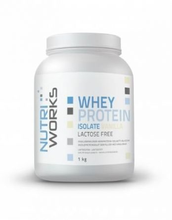 Nutri Works Whey Protein Isolate vanilja 1kg