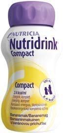Nutridrink Compact täydennysravintovalmiste 4 x 125 ml BANAANI
