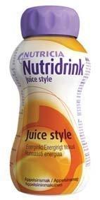 Nutridrink Juice style 4 x 200 ml APPELSIINI