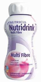 Nutridrink Juice style 4 x 200 ml MANSIKKA