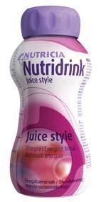 Nutridrink Juice style 4 x 200 ml METSÄMARJA