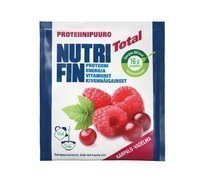 Nutrifin Total karpalo-vadelma proteiinipuurojauhe 67 g