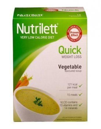 Nutrilett Creamy Vegetable Soup VLCD 15 annosta