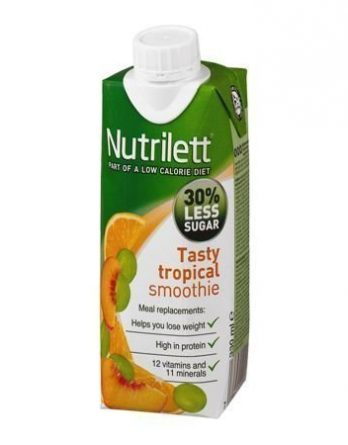 Nutrilett Less Sugar Tasty Tropical 12 kpl (laatikko)