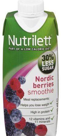 Nutrilett Nordic Berries Smoothie 330 ml