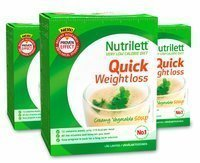 Nutrilett Quick Weight Loss Creamy Vegetable Soup 15 annosta