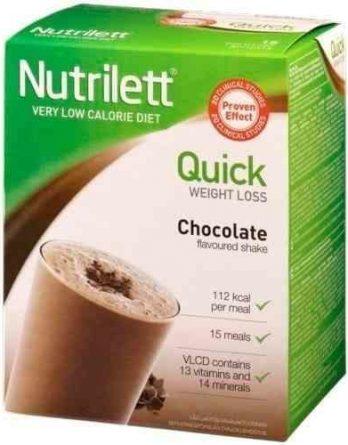Nutrilett VLCD Quick Weight Loss Suklaapirtelö 15 annosta