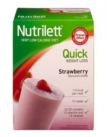 Nutrilett shake strawberry VLCD 15 annosta