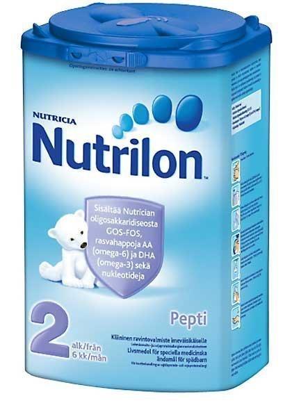 Nutrilon Pepti 2-jauhe 900 g