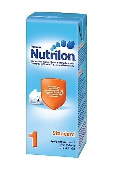Nutrilon Standard 1 -Äidinmaitokorvike 2dl 15 kpl