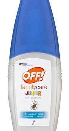 OFF! Family Care Junior hyttyskarkote 100 ml