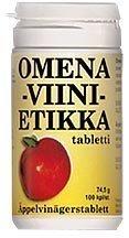 Omenaviinietikka 100 tabl.