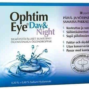 Ophtim Eye Day & Night silmätipat 30 pipettiä