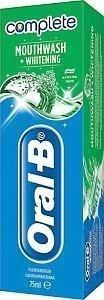 Oral-B Complete Mouthwash & Whitening Hammastahna 75 ml