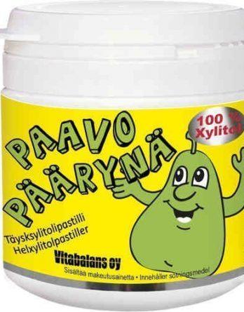 Paavo Päärynä 150 täysksylitolipastillia