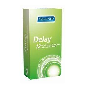 Pasante Delay kondomi 12 kpl