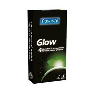 Pasante Glow kondomi 4 kpl