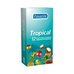 Pasante Tropical kondomi 12 kpl