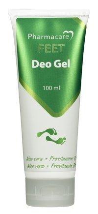 Pharmacare Feet Deo geeli 100 ml