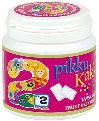 Pikku Kakkonen hedelmä täysksylitolipurukumi 120 g.