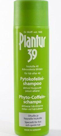 Plantur39 Kofeiinishampoo hennoille ja hauraille hiuksille 250 ml