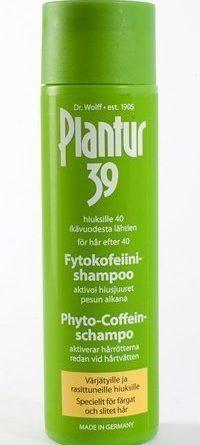 Plantur39 Kofeiinishampoo värikäsitellyille ja rasittuneille hiuksille 250 ml
